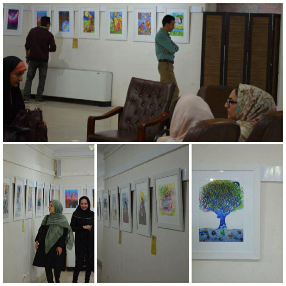 جلوهی هنر همدانی با نمایشگاه  زن و طبیعت / خسرو انصاری: قصد دارم با نمایشگاه  زن و طبیعت ایرانگردی کنم